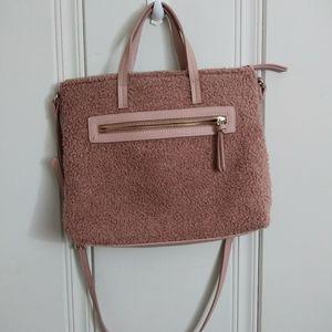 Mauve Soft Shoulder Bag